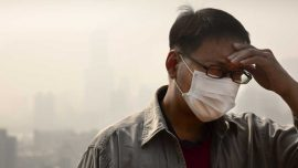 Air pollution affects human health